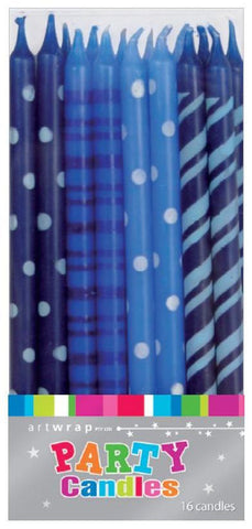 Multi Blue Candles