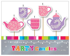 Tea Party Candles