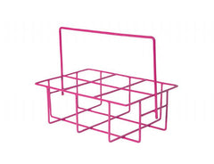 Pink Mini Bottle Crate