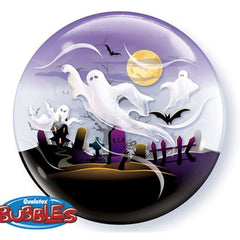 Halloween Ghost Deco Bubble Balloon
