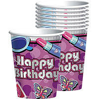 Glitzy Girl Cups