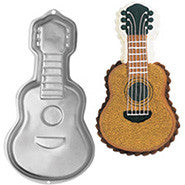 Guitar Cake Tin Hire