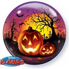 Halloween Pumpkin Deco Bubble Balloon