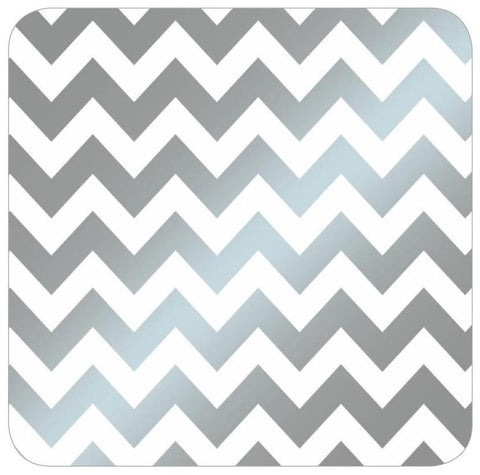 Silver Chevron Table Runner/Wrap