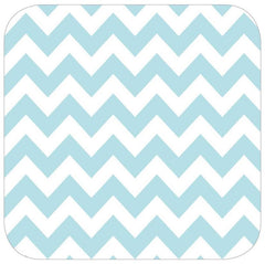 Aqua Chevron Table Runner