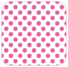 Bright Pink Dot Table Runner