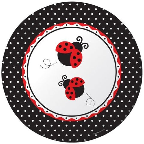 Ladybug Fancy Large Serving Plates