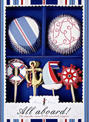 All Aboard Boxed Cupcake Kit