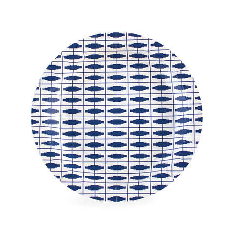 Dessert Plates Naut So Navy