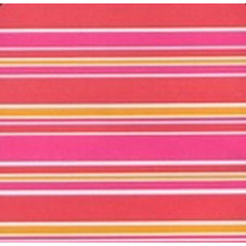 Red Pink Orange Stripe Table Runner/Wrap
