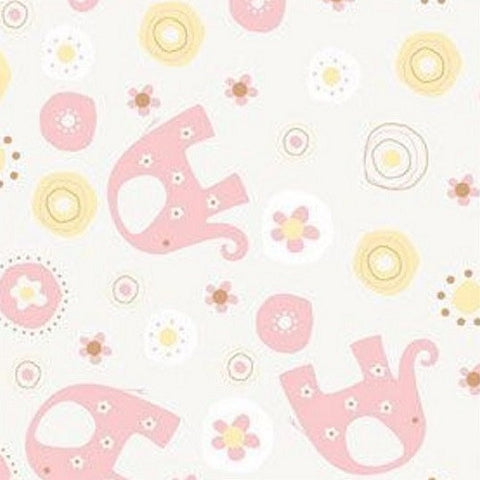 Baby Pink Elephant Table Runner