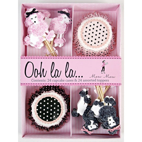 Ooh La La Poodle Boxed Cupcake Kit