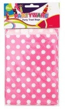 Pink Spot Party Bags
