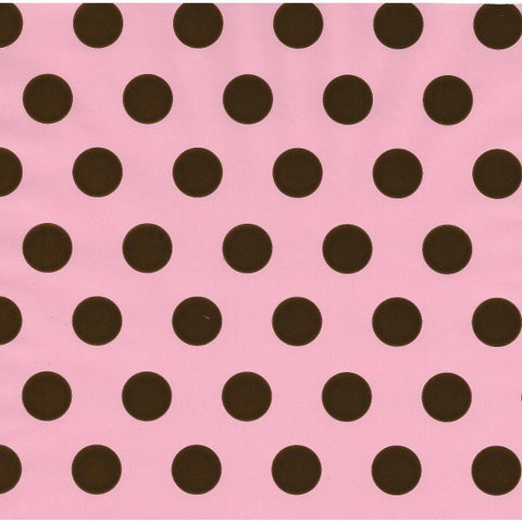 Pink - Brown Dot Table Runner/Wrap