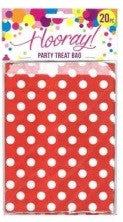 Red Spot Party Bags