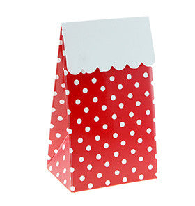 Red Spot Party Treat Boxes