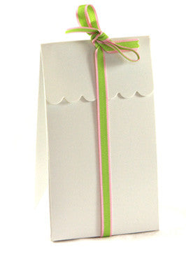 White Party Treat Boxes