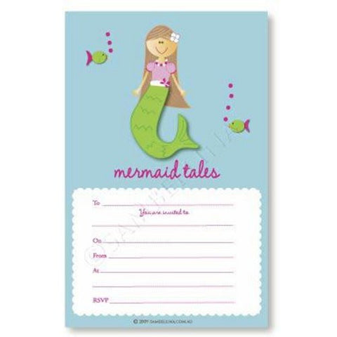 Mermaid Tales Invitations