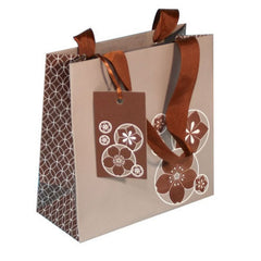 Chocolate Brown Gift Bag