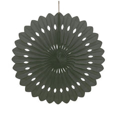 Black Decorative Fan