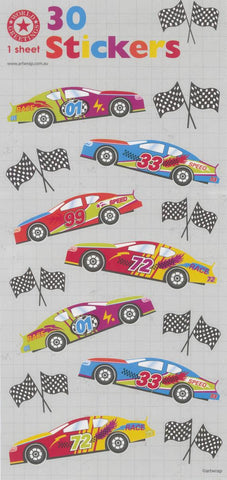 Racing Car Stickers