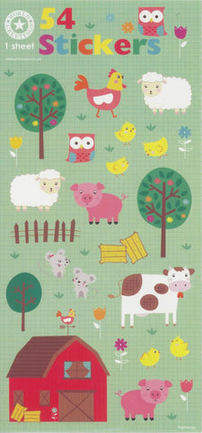 Farmyard Animal Stickers