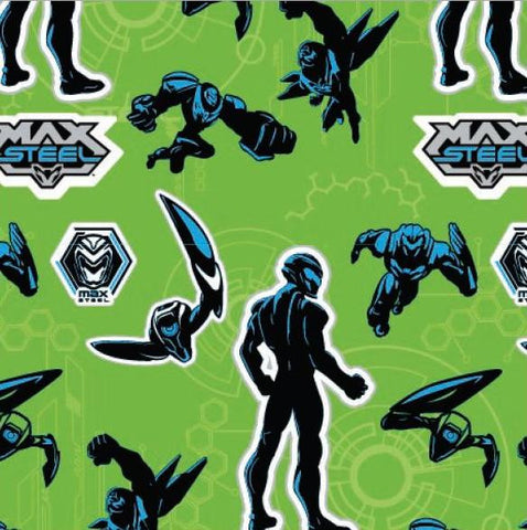 Max Steel Gift Wrap
