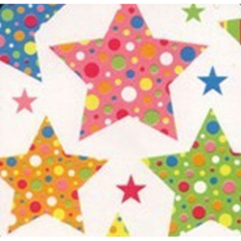 Coloured Stars Table Runner
