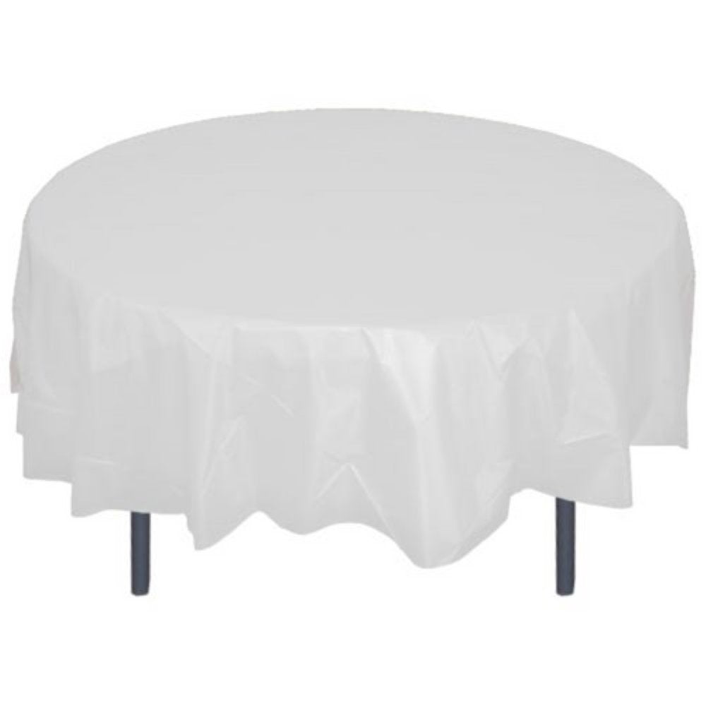 sc 1 st  Poppyseed & White Table Cover Round | Table Covers \u2013 Poppyseed