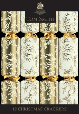 Christmas Crackers Gold & Cream