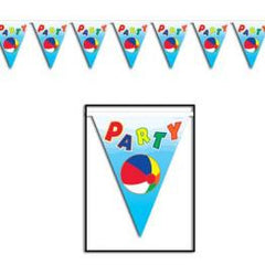 Beach Ball Bunting Flags