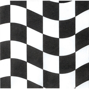 Checkered Flag Small Napkins