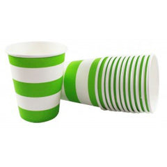 DR Green Stripe Cups