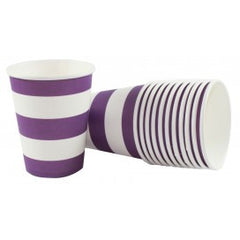 DR Purple Stripe Cups
