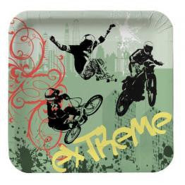 Xtreme Action Large Square Plates
