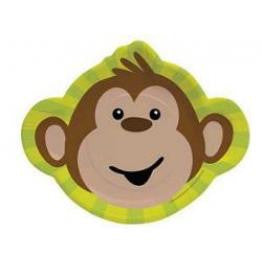 Monkeyin Around Shaped Plates