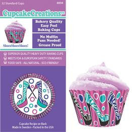 High Heels Cupcake Wrappers