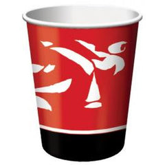 Black Belt Karate Cups