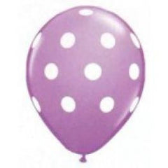 Purple Polka Dot Balloons