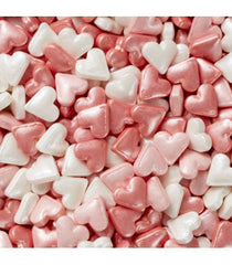 Pink Heart Mix Sprinkles