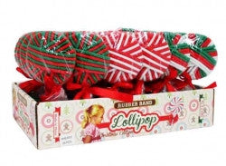 Hair Elastic Christmas Lollipop