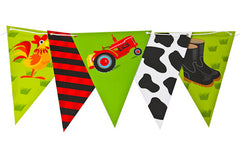 Down on the Farm Bunting Flags