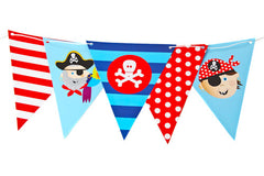 Pirate Pals Bunting Flags