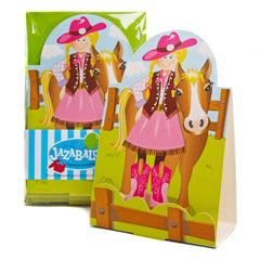 Cowgirl & Pony Invitations