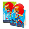Superhero Fans Invitations