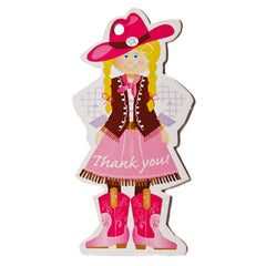 Cowgirl & Pony Tags
