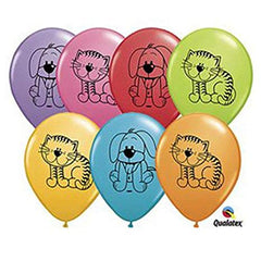 Kitten & Puppy Balloons