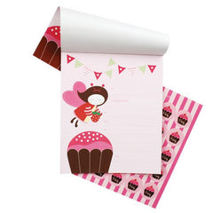 Cupcake Invitations Pad