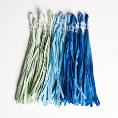 Toot Sweet Blue Party Tassels