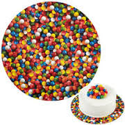 Bright Sweets Round Cake Board